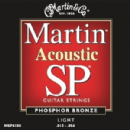 Martin SP Phosphor Bronze Light MSP4100 Acoustic Guitar Strings 012-054